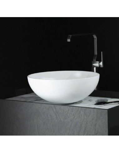Lavabo in solid surface diametro 43 cm