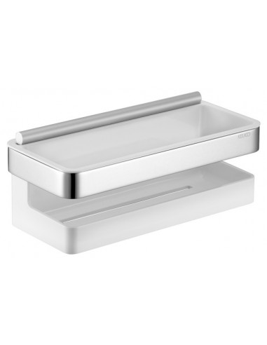 Keuco - Cestino doccia in metallo con...