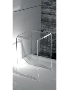 Sgabello in plexiglass
