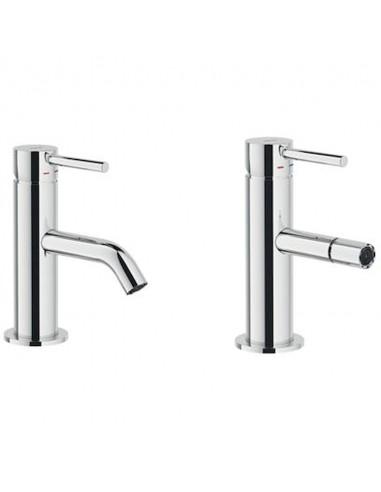 Set rubinetteria Acquarelli lavabo +...