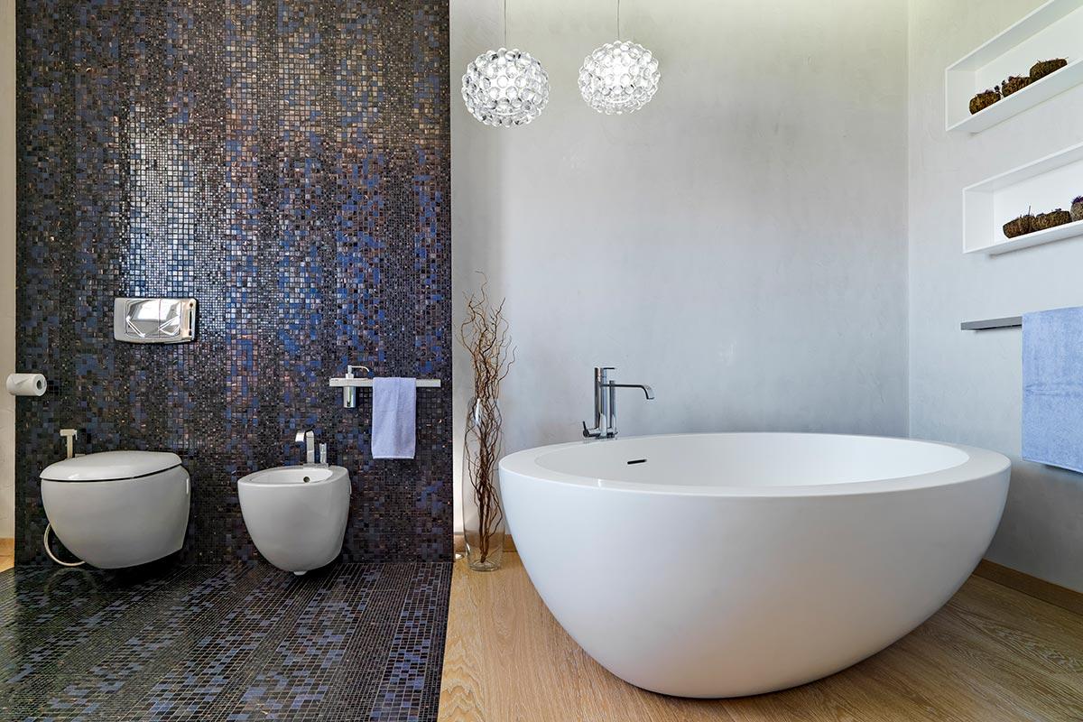 progettazione bagno moderno